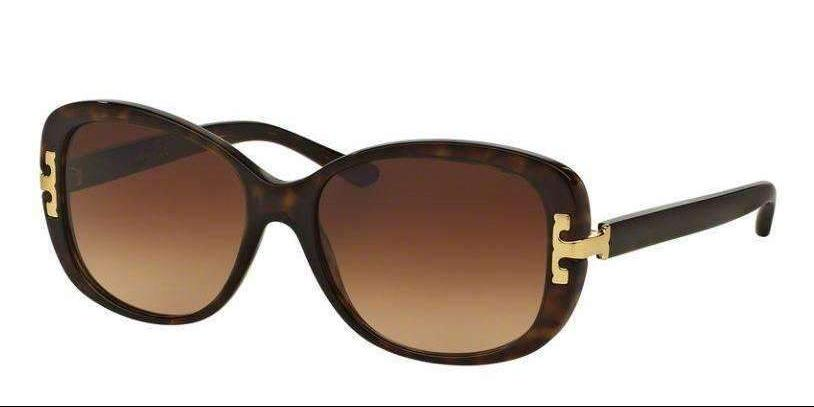Tory Burch TY7090A 137813 56 mm Dark Tortoise Gradient Brown