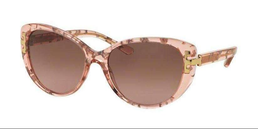 Tory Burch TY7092 155214 56 mm Pink Tweed Gradient Brown Rose