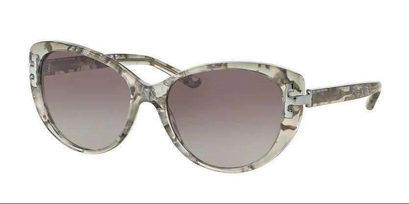 Tory Burch TY7092A 155111 56 mm Silver Tweed Gradient Grey