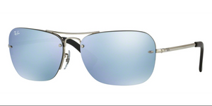 Ray Ban RB3541 003/30 61 61mm Silver Mirror