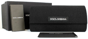 Carrying case and Brand Paperwork for Dolce & Gabbana Sunglasses - DG2165 04/87 58 GREY GUNMETAL GRAY Men's Square