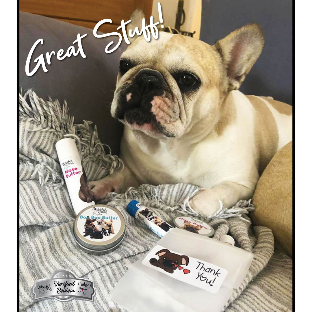 French bulldog nose treatment