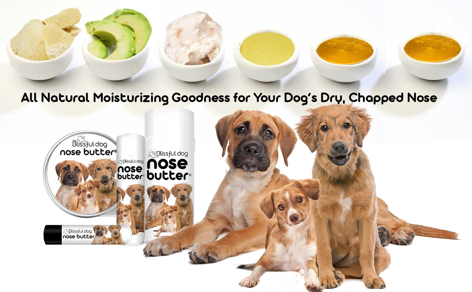 nose butter for dry chapped dog noses