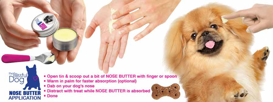 apply nose butter