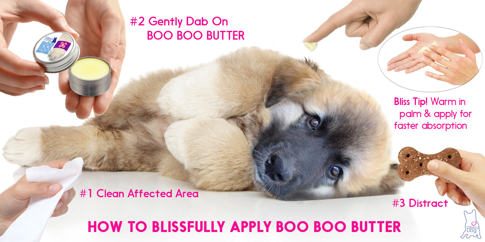 How to apply BOO BOO BUTTER