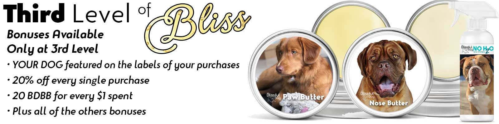your dog on labels