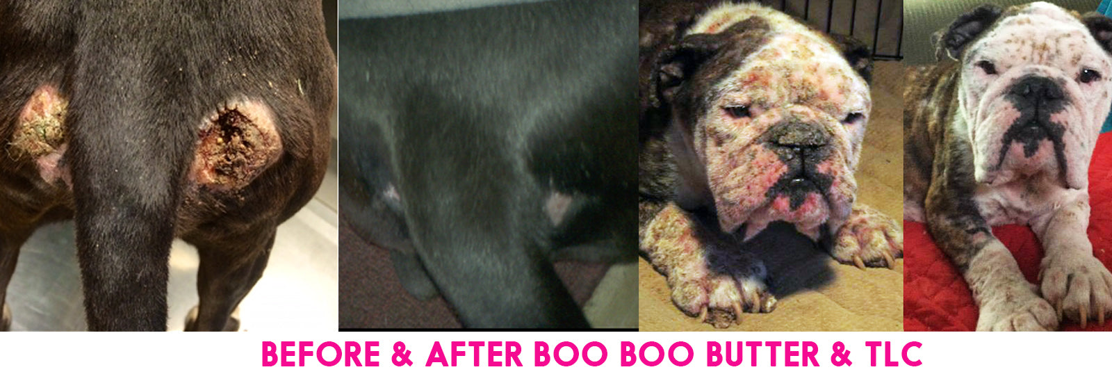 Before & After BOO BOO BUTTER