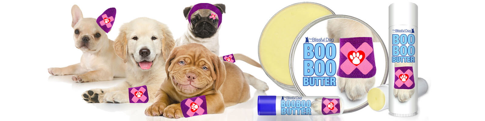 BOO BOO BUTTER DOG HERBAL BALM