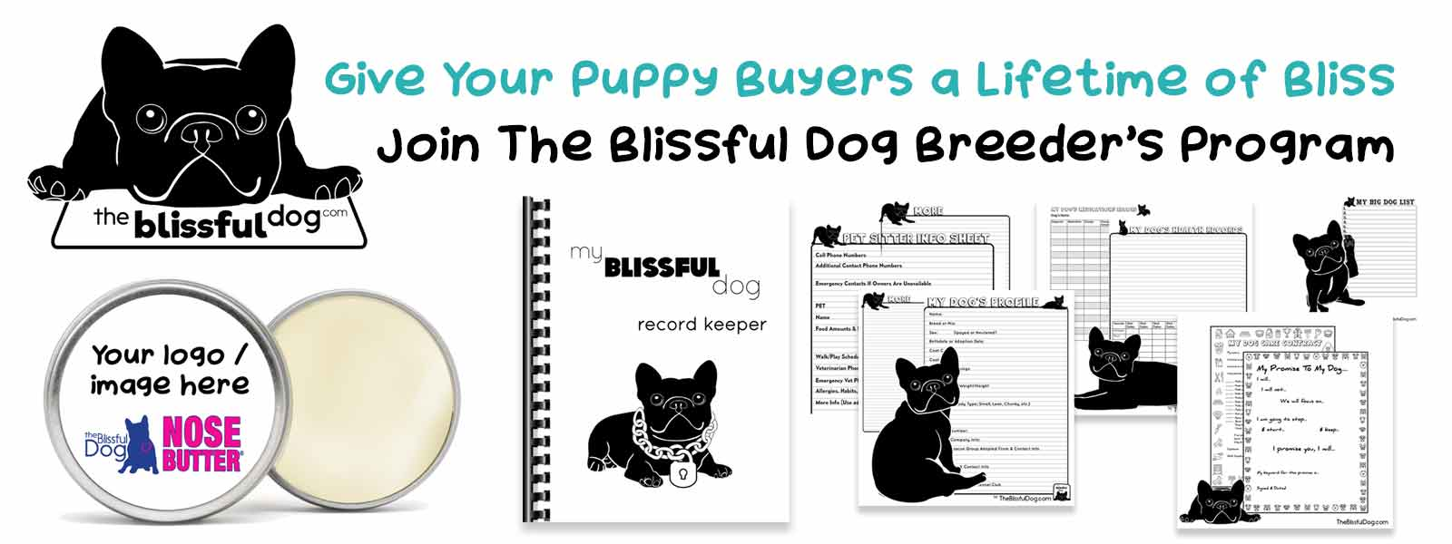 The Blissful Dog breeders program
