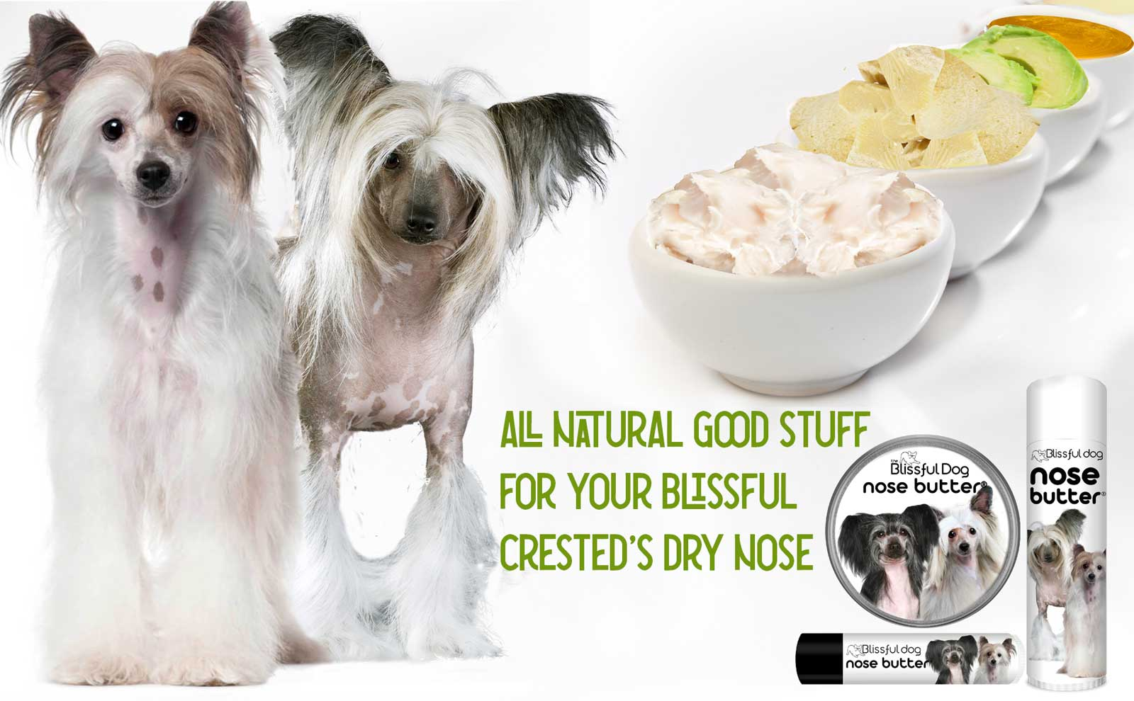 chinese crested skin and nose moisturizer