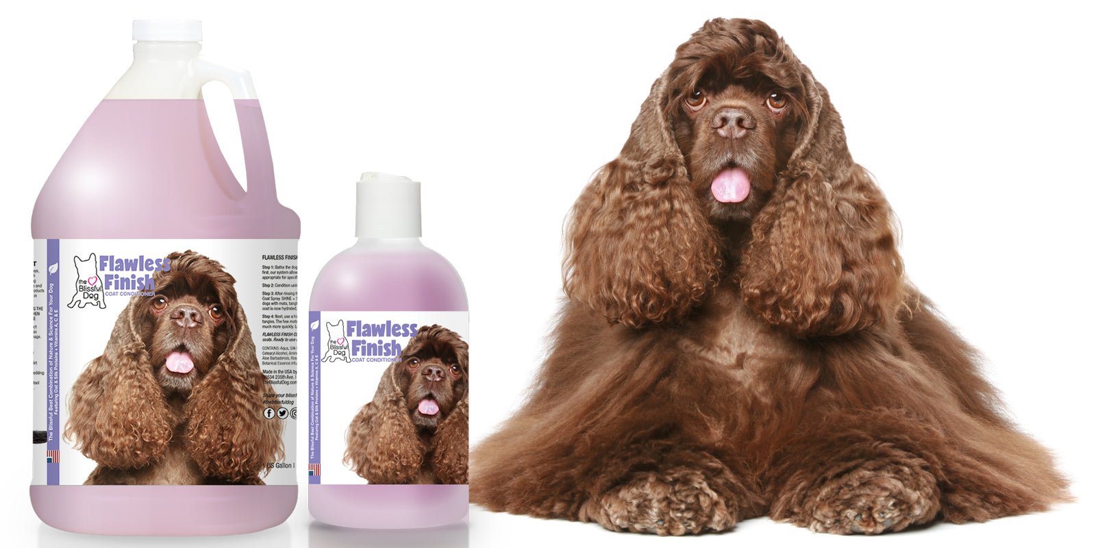 flawless finish dog coat conditioner
