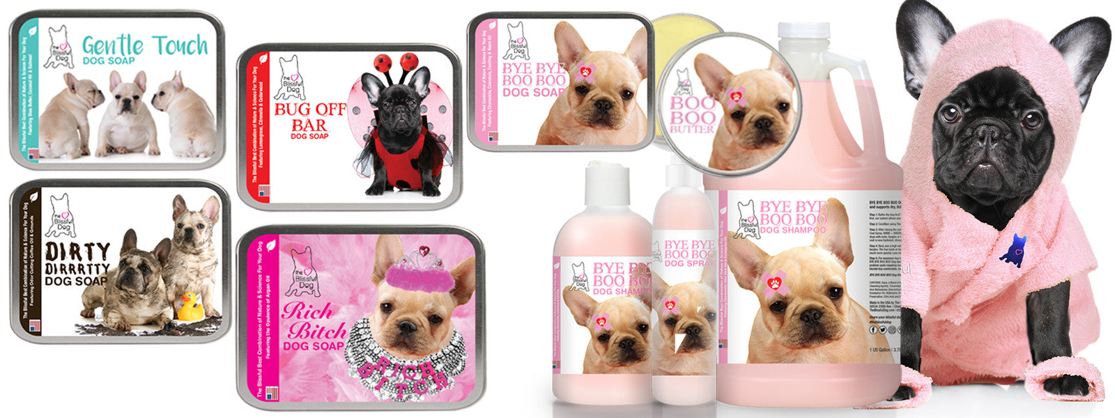 FRENCH BULLDOG SOAP