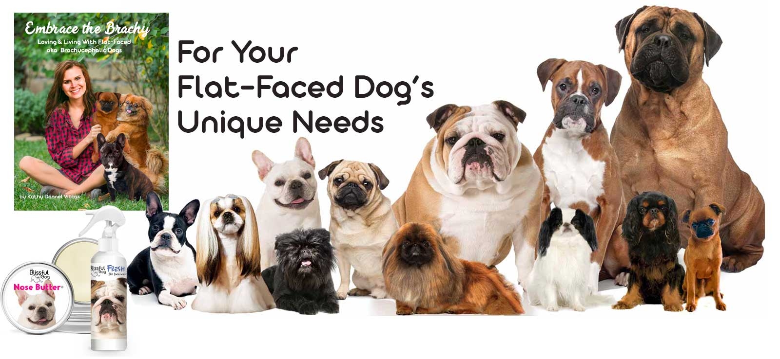 caring for flat-faced dogs
