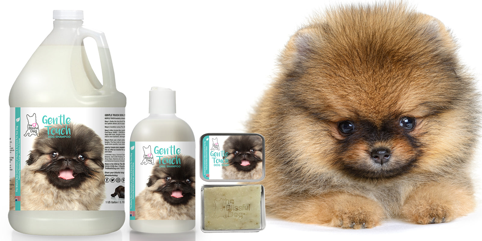 GENTle touch puppy SHAMPOO