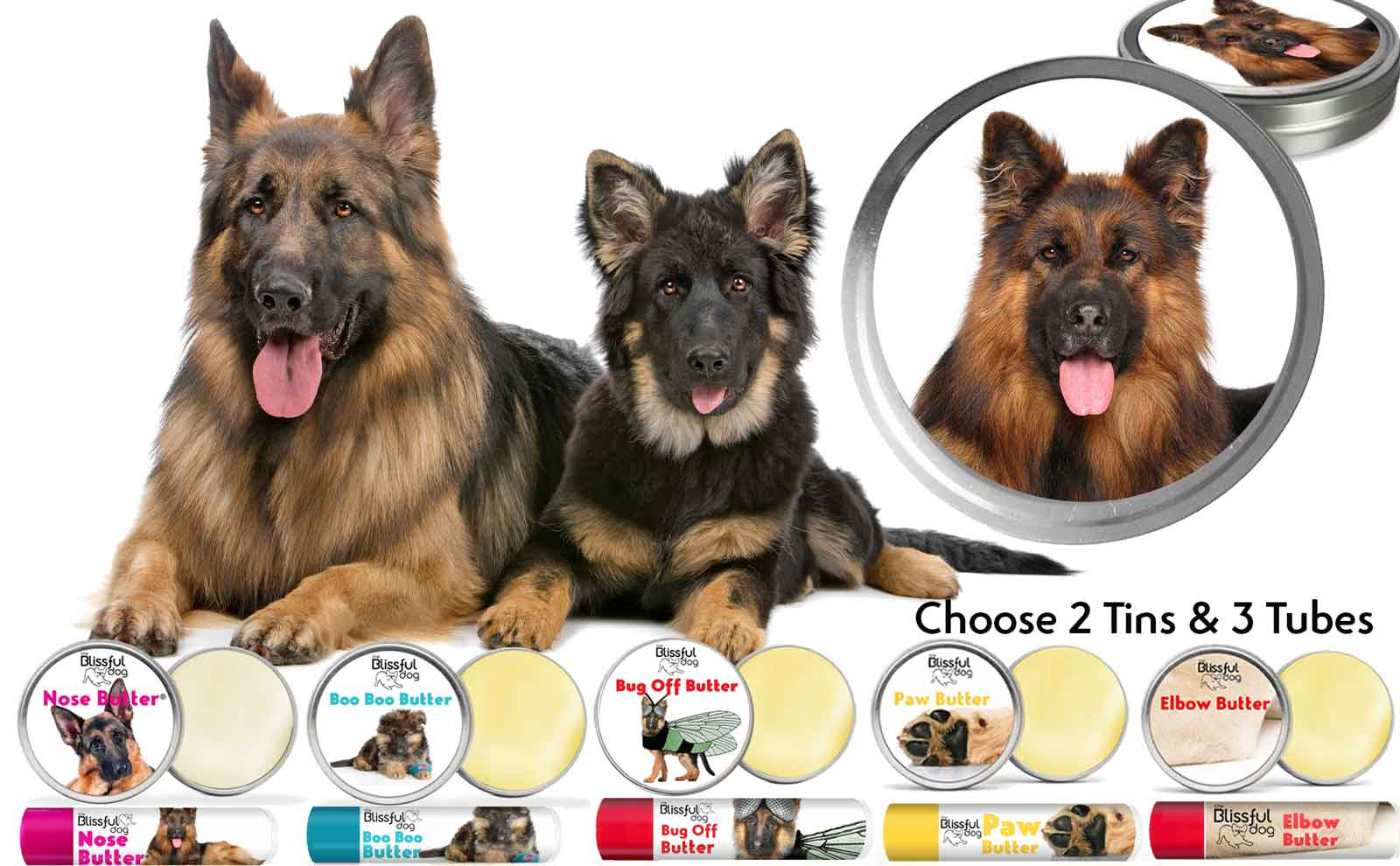 german shepherd skin care