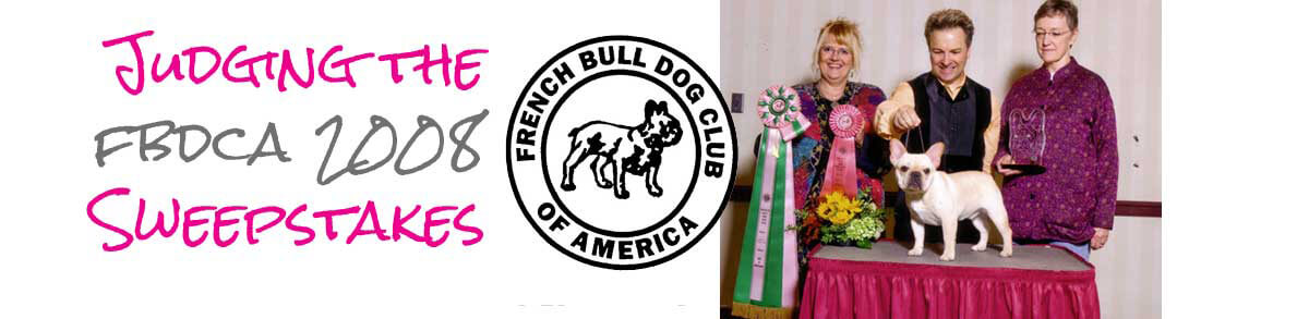 french bulldog club of america sweepstakes judging