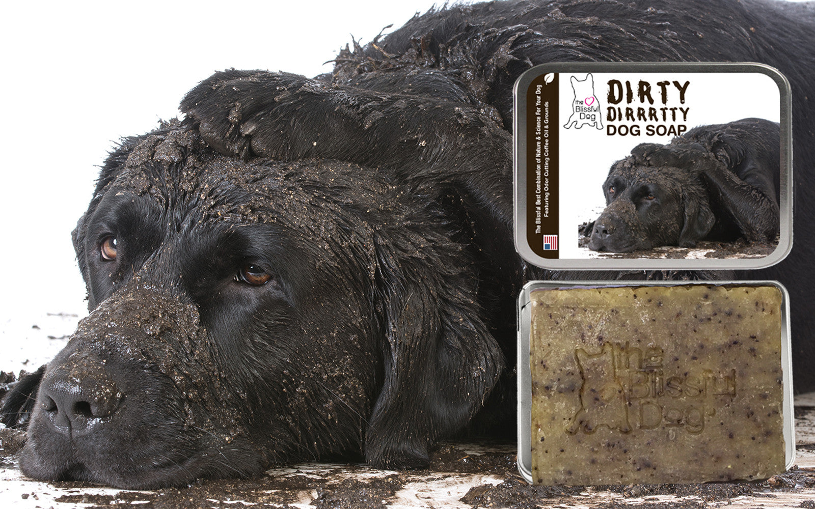 DIRTY LABRADOR RETRIEVER SOAP