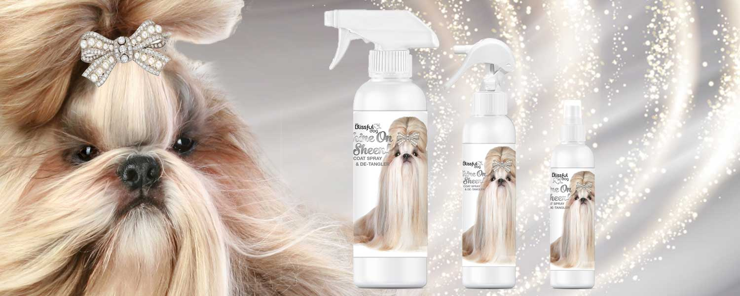 SHINE-ON coat Spray dogs
