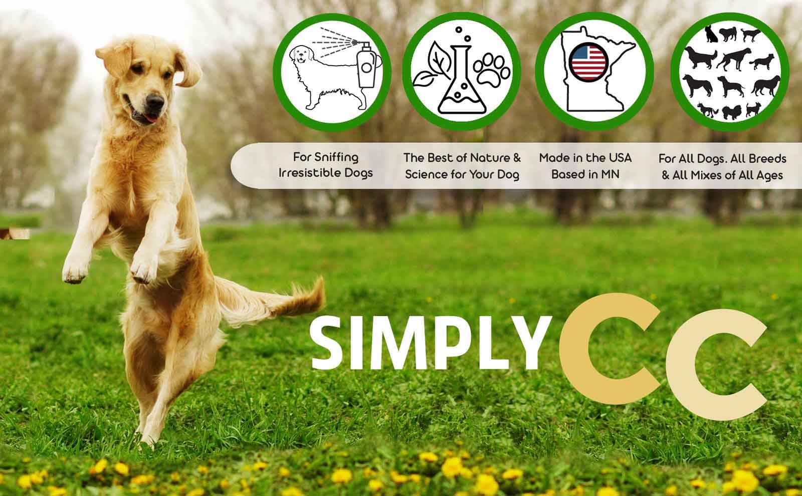 simply cc dog cologne