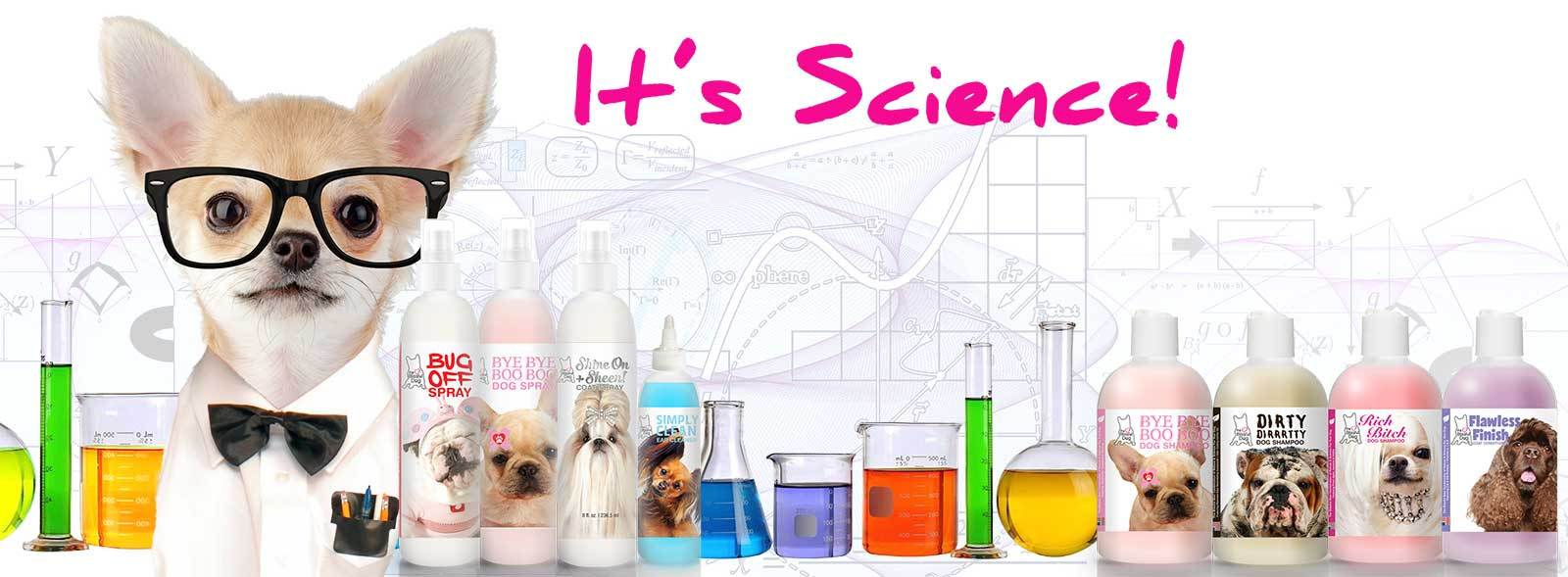 science of dog shampoo