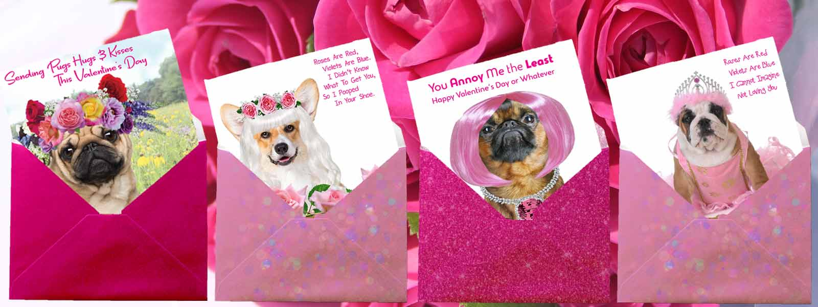 dog valentine's day cards