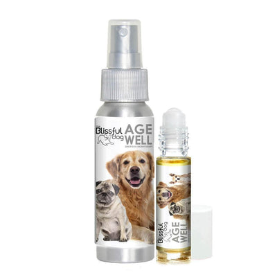 Age Well Dog Aromatherapy for senior dogs