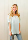 ASH Cloud Tee in Pacific Blue by Ash Francomb