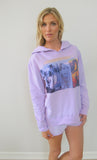 """Na Pali"" Orchid Pullover Hoodie by Ash Francomb"