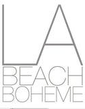 """La Beach Boheme"" Cloud Tee in Pacific Blue by Ash Francomb"