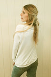 ASH Long Sleeve Crew Neck Sweatshirt in Sand by Ash Francomb