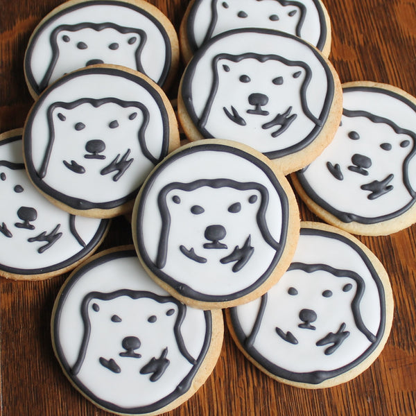 Bowdoin Bears Sugar Cookies