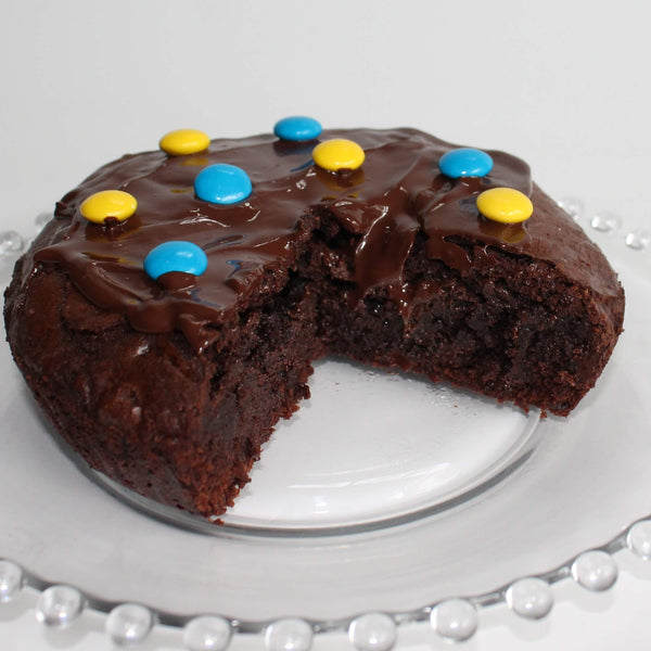 Hanukah Brownie Brick