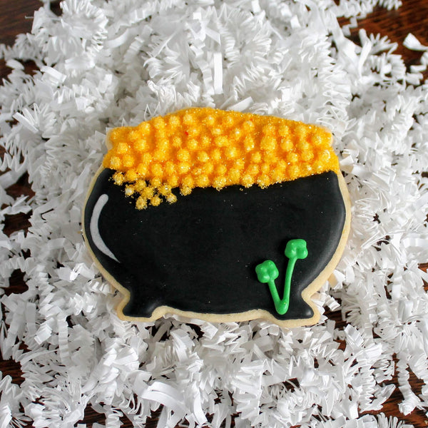 Pot of Gold Sugar cookie