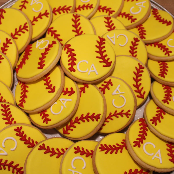 Cheshire Academy Softball cookies