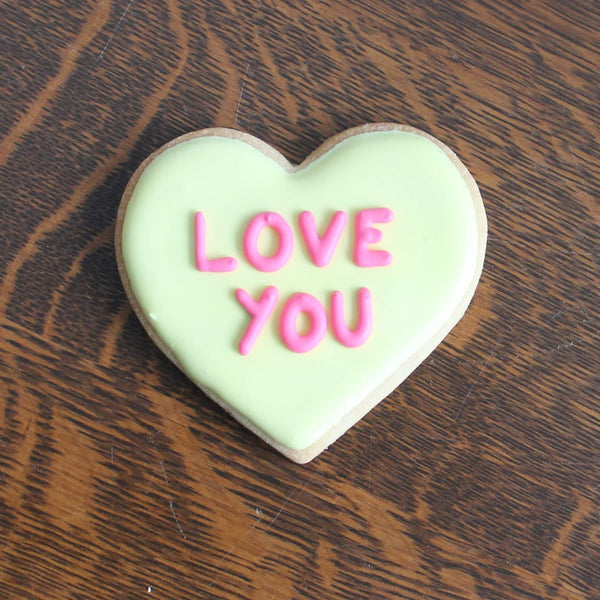 Conversation Heart - Love You