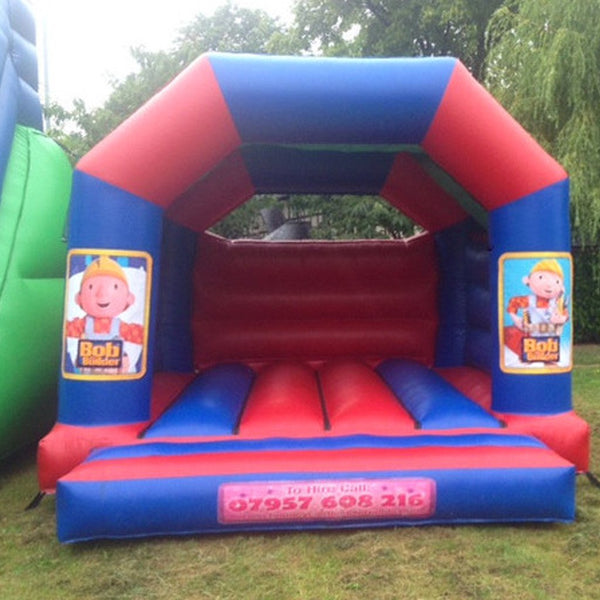 Bob The Builder Bouncy Castle - Bouncy Castles Liverpool