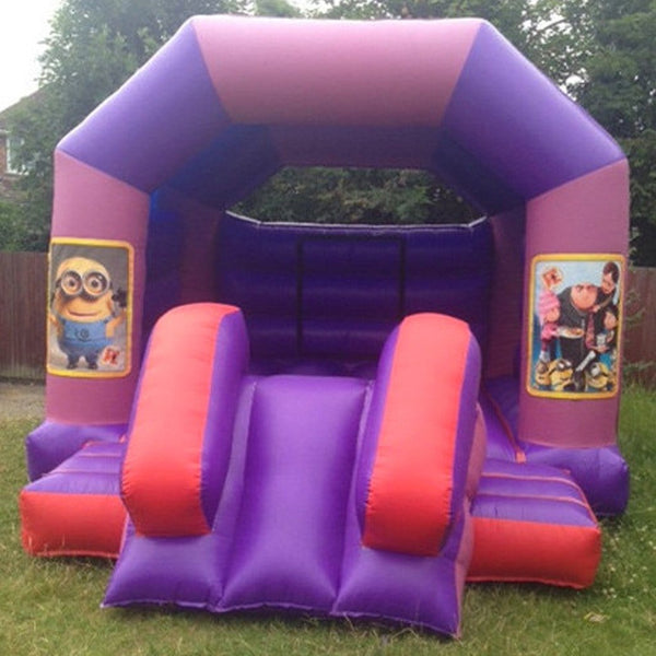 Despicable Me Bouncy Slide - Bouncy Castles Liverpool