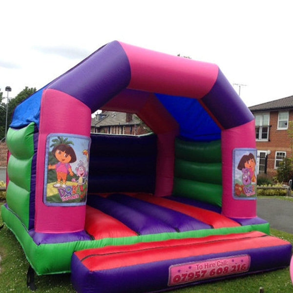 Dora Explorer Bouncy Castle - Bouncy Castles Liverpool