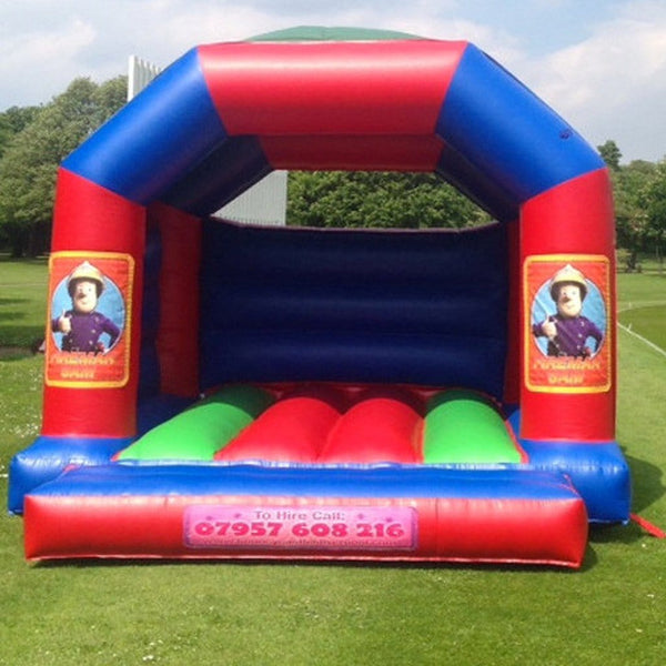 Fireman Sam Bouncy Castle - Bouncy Castles Liverpool