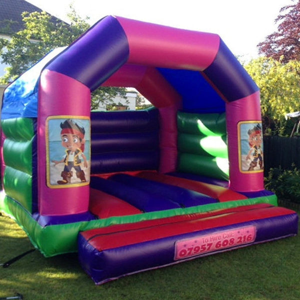 Jake The Pirate Bouncy Castle - Bouncy Castles Liverpool