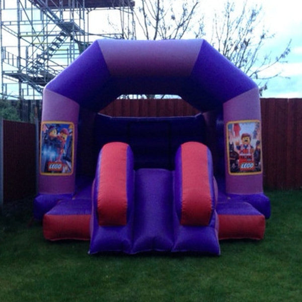 Lego Bouncy Slide - Bouncy Castles Liverpool