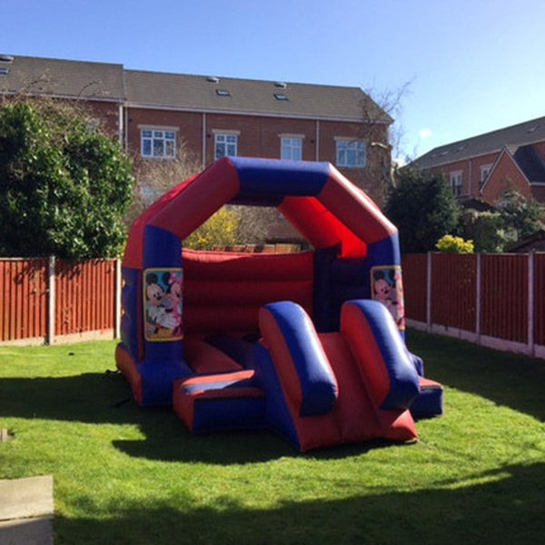 Mickey Mouse Bouncy Slide - Bouncy Castles Liverpool