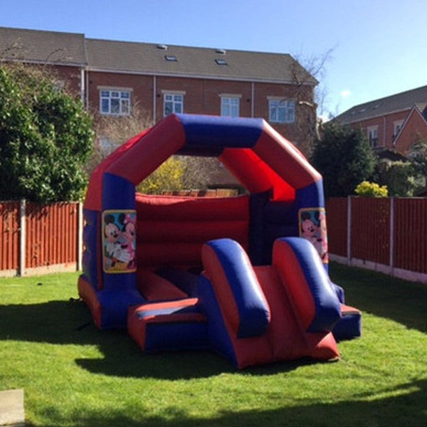 Minnie Mouse Bouncy Slide - Bouncy Castles Liverpool