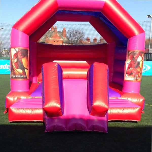 Spider Man Bouncy Slide - Bouncy Castles Liverpool