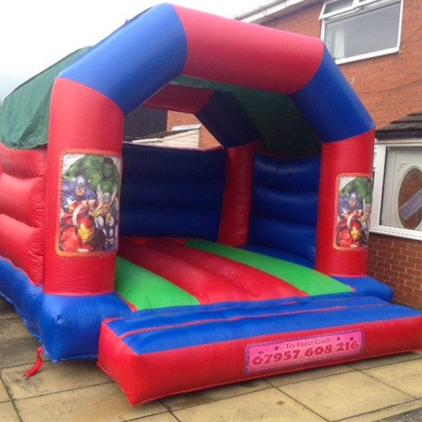Avengers Bouncy Castle - Bouncy Castles Liverpool