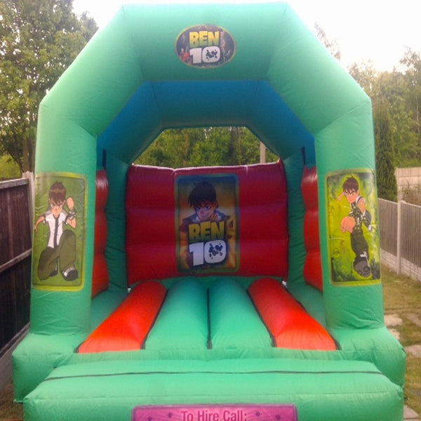 Ben 10 Bouncy Castle - Bouncy Castles Liverpool