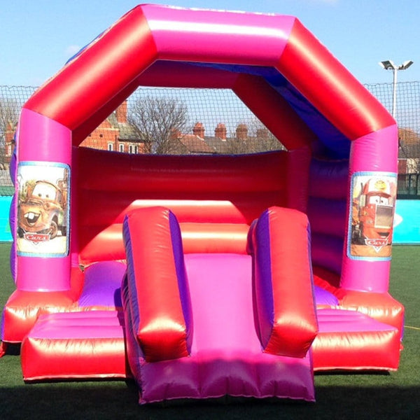 Cars Bouncy Slide - Bouncy Castles Liverpool