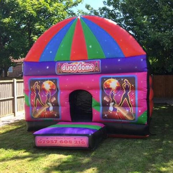 Disco Dome - Bouncy Castles Liverpool