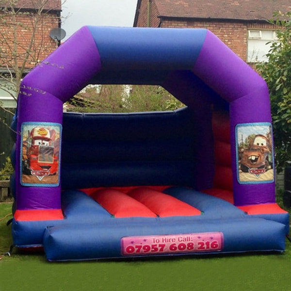 Cars Bouncy Castle - Bouncy Castles Liverpool