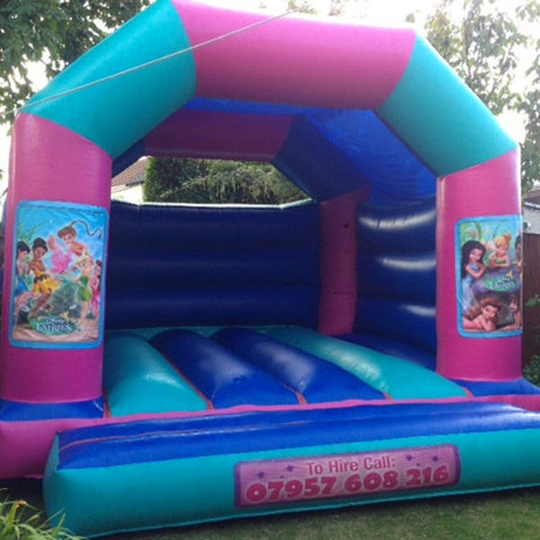 Disney Fairies Bouncy Castle - Bouncy Castles Liverpool